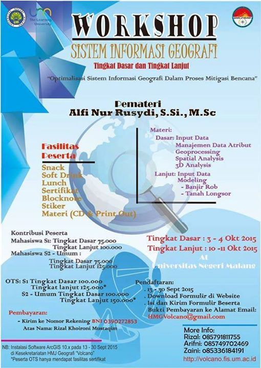 workshop (sistem informasi geografi)